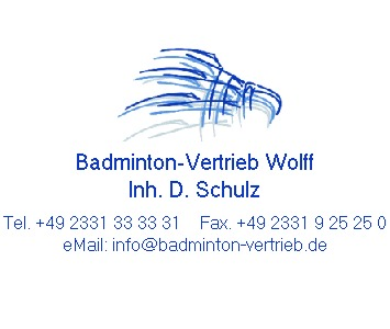Badminton-Vertrieb